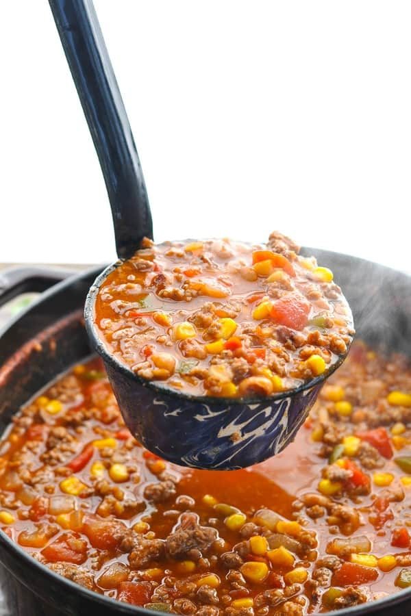 Good Luck Southern Chili Recipe The Seasoned Mom