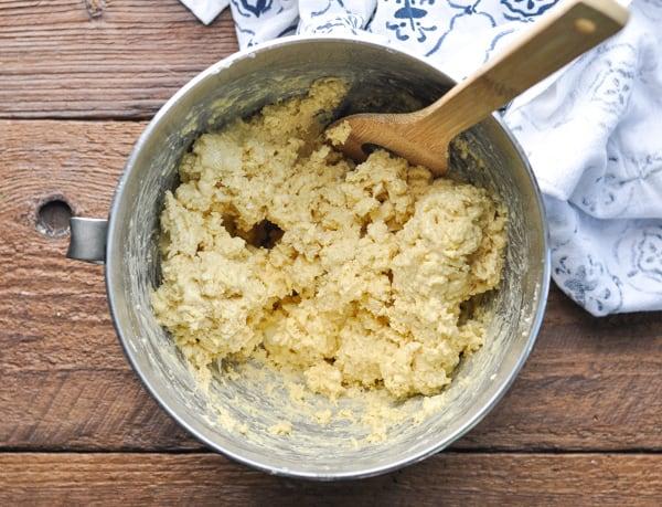 Dough for blueberry scones