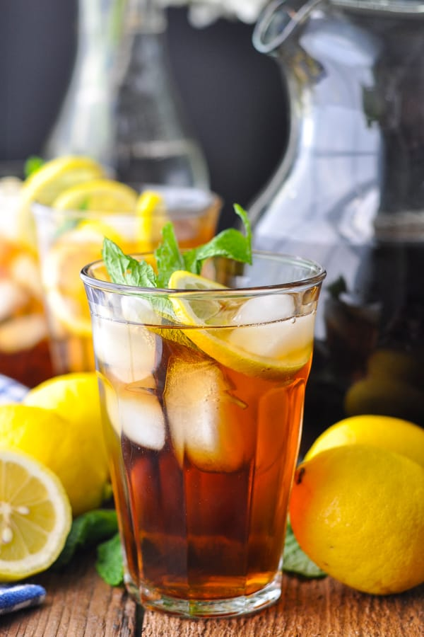 Sweet Tea Recipe The Seasoned Mom