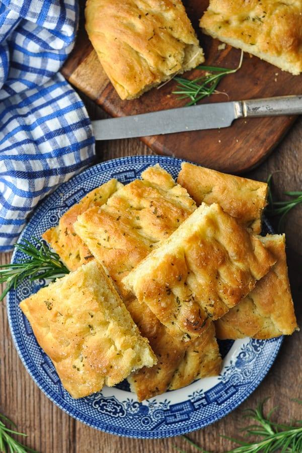 Focaccia Bread Recipe The Seasoned Mom