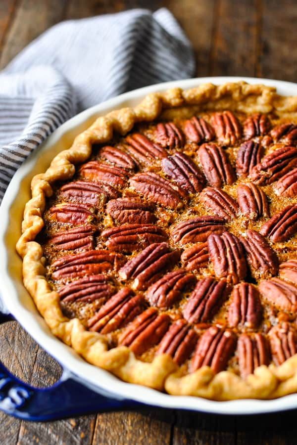 Easy Pecan Pie Recipe The Seasoned Mom