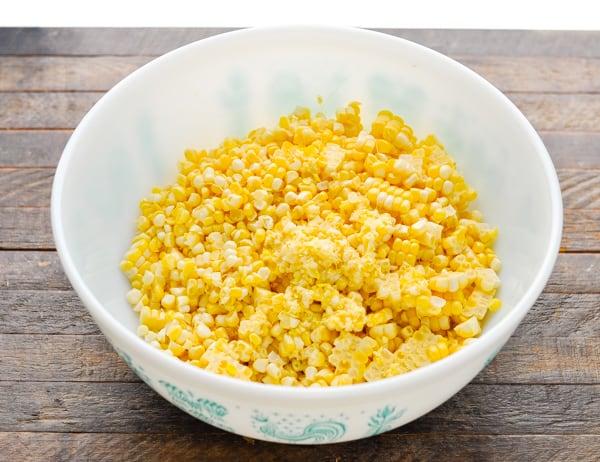 Corn cut off the cob