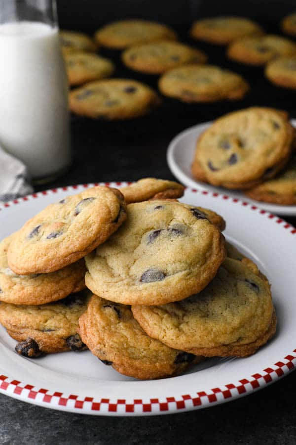 Soft And Chewy Chocolate Chip Cookies The Seasoned Mom