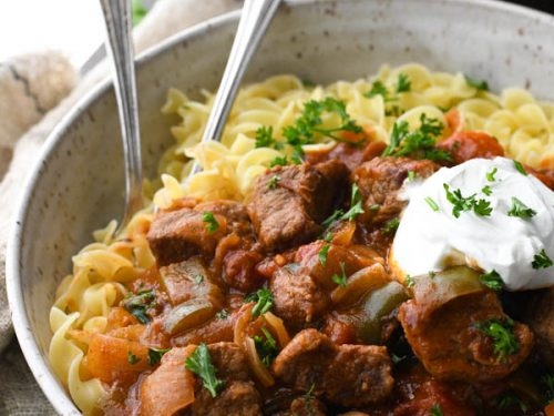 Hungarian Goulash The Seasoned Mom