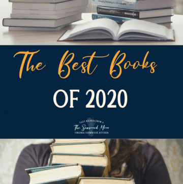Collage of best books of 2020