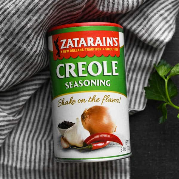Jar of Zatarain's Creole seasoning