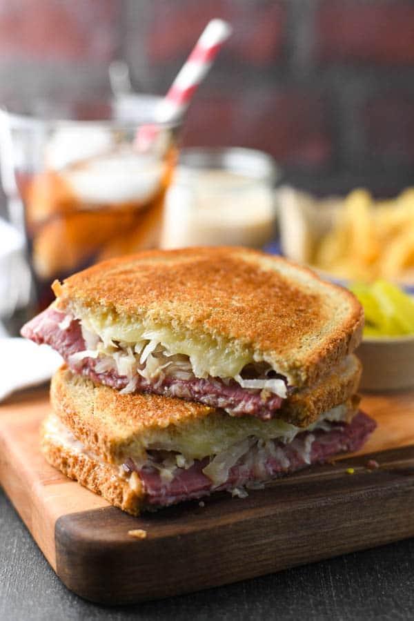 Reuben Sandwich Recipe The Seasoned Mom