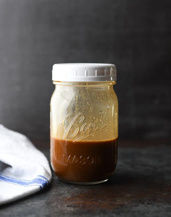 Jar of stir fry sauce