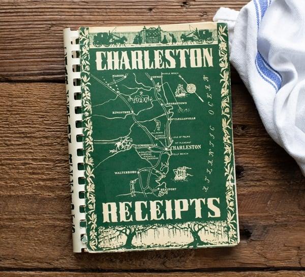 Vintage Charleston cookbook