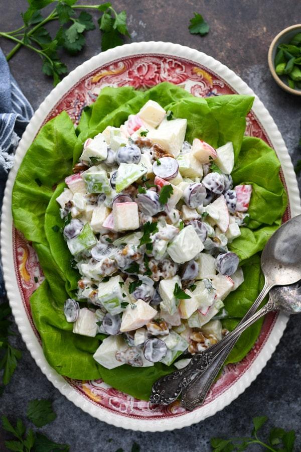 Virginia Diner Waldorf Salad Recipe