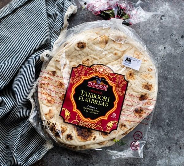 Package of flatbread